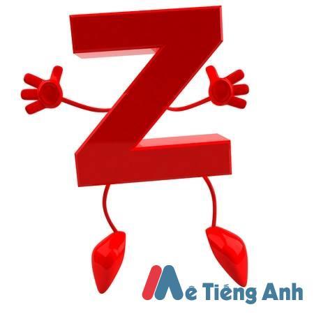 Cách phát âm chữ Z
